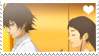 TT: CR x Tomoe stamp by Cranberryduceus