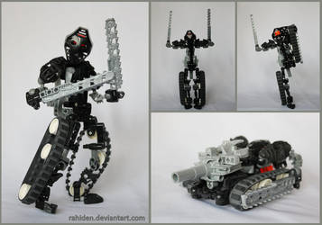 Bionicle MOC: Transformer by Rahiden