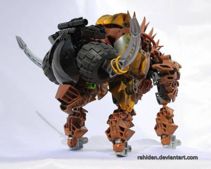 Bionicle PokeMOC: Bouffalant by Rahiden