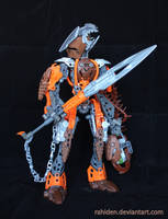 Bionicle MOC: Toa Pirral by Rahiden