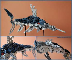 Bionicle MOC: Swordfish by Rahiden