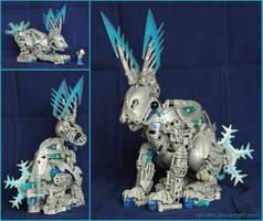 Bionicle MOC: Bunny by Rahiden