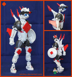 Bionicle MOC: Ace of Diamonds by Rahiden