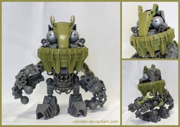 Bionicle MOC: Cragger Troll by Rahiden