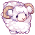 [F2U] Pixel Icon || Plush Sheep by cloudylicious