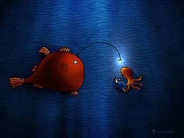 Anglerfish by vladstudio