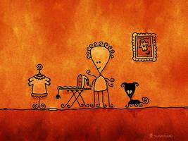 Alien Housewife by vladstudio