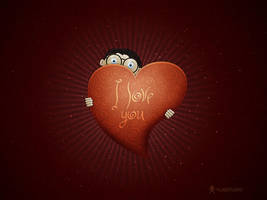 A Boy In Love by vladstudio