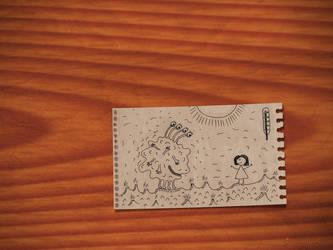 Sketchbook - Natasha and Fooka by vladstudio