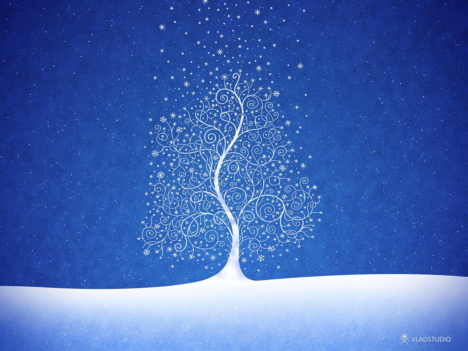 Where Snowflakes Are Born by vladstudio