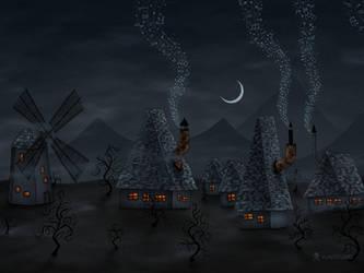The Village Of Musicians by vladstudio