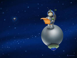 Astronaut by vladstudio