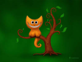 A Cheshire Kitten by vladstudio