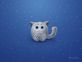 Snow Leopard by vladstudio