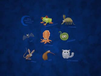 Nocturnal Animals by vladstudio