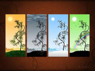 Seasons by vladstudio