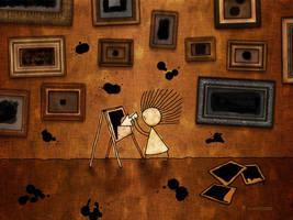 Malevich - Black Square by vladstudio