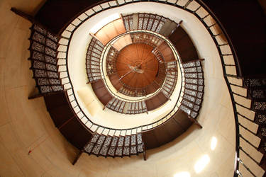 Granitz spiral stairs by Criosdan
