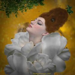 Lady Gardenia by cluttergirl