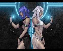 Two of Shards by Blue6