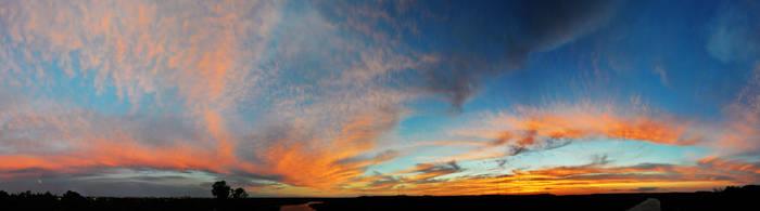 Sunset 8/20/2013 Mt Bonnel by Mikau-010