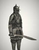 Fantasy Ottoman Dismounted Elite Sipahi by Taurus-ChaosLord