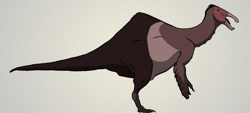 Deinocheirus mirificus by MorTalWawmbaht
