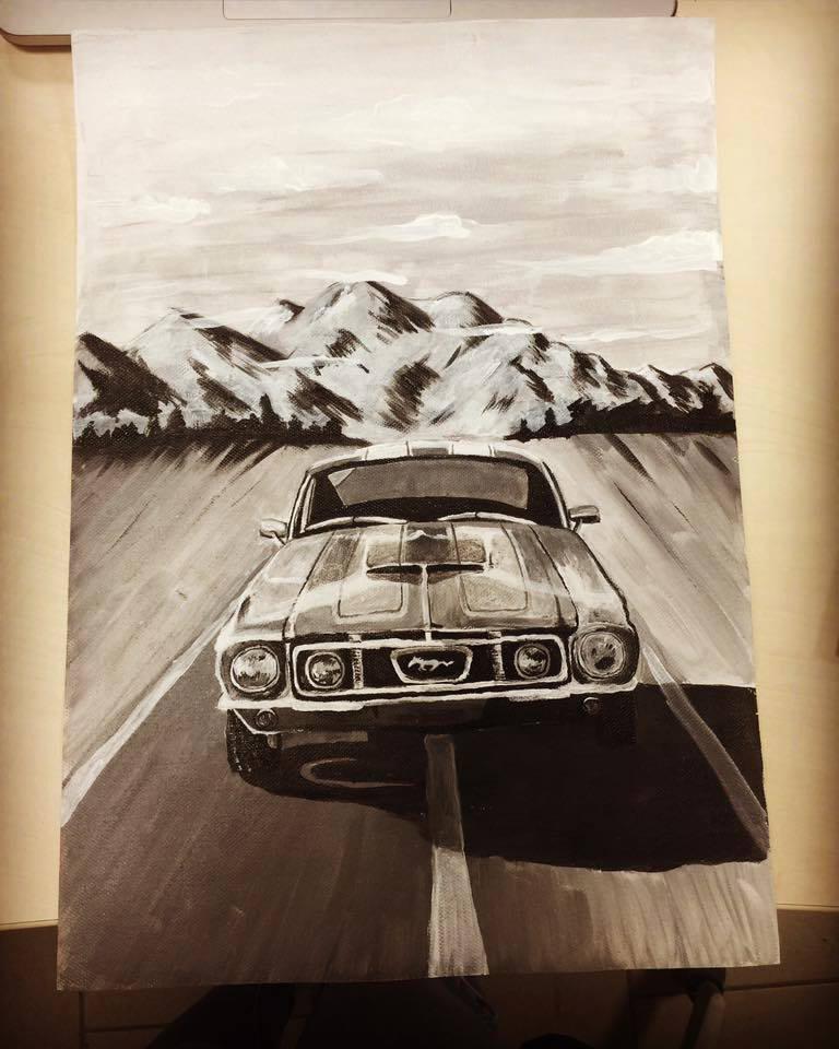 Mustang by Waronicuke