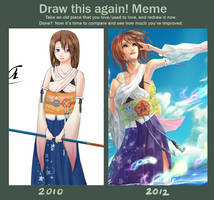 2010-2012 Draw Again meme by Aureta