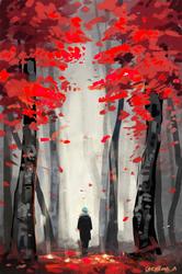 [SUGA] Dead Leaves by Aureta