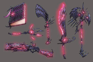 Weapons Color4 by self-replica