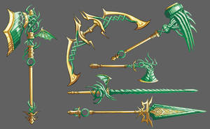 Dragonglass Weapon by self-replica