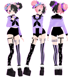 TDA Pastel Goth Mel +Private Download by HasegaMel