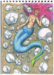 La sirena (The mermaid) by DBG-Rol-and-More
