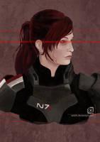 Shepard Commander by Seleth