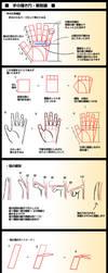 Hands Anatomy v3 by Bardi3l