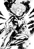 Jean Grey Phoenix by PsychedelicHeroin