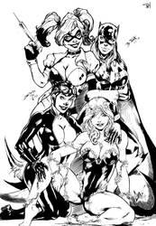 Gotham Girls by PsychedelicHeroin
