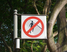 No Trespasing Allowed by bedeviere