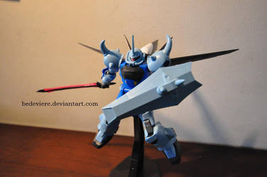 HG 1/144 ZGMF-2000 Gouf Ignited by bedeviere