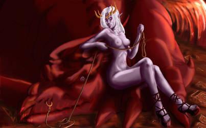Demonic Dream Girl by Ragnarro
