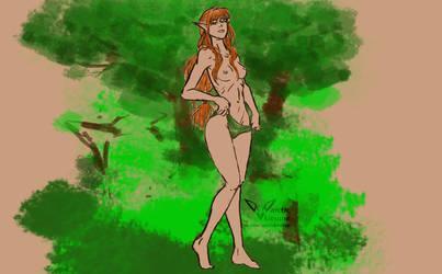 Forrest maiden by Ragnarro