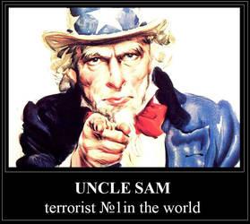 USA - we make world wide terror by Ragnarro