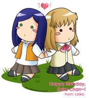 Shizuru and Natsuki for Sakura by laikaken