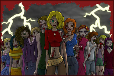 Zombies commission by lloy0103