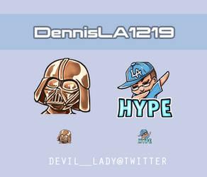 Emotes DennisLA1219 by devilladyart