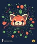 Pandalove // Vote it on Qwertee!! by Geekydog