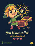 The Legendary Coffee // Vote it on Qwertee!! by Geekydog