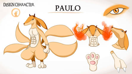 Paulo design character by deady17