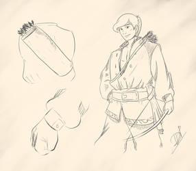 robinhood sketch by deady17